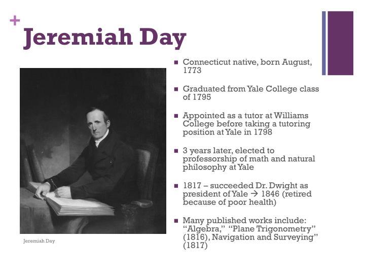 Jeremiah Day