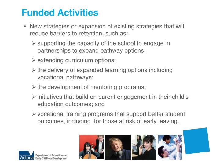 Funded Activities