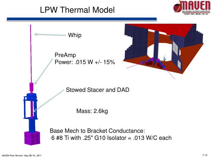 LPW Thermal Model