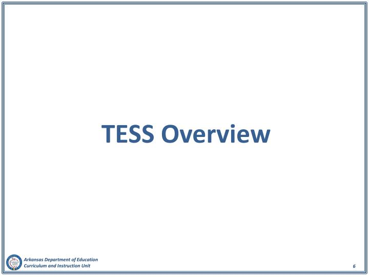 TESS Overview