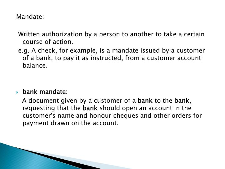 bank and customer relationship ppt