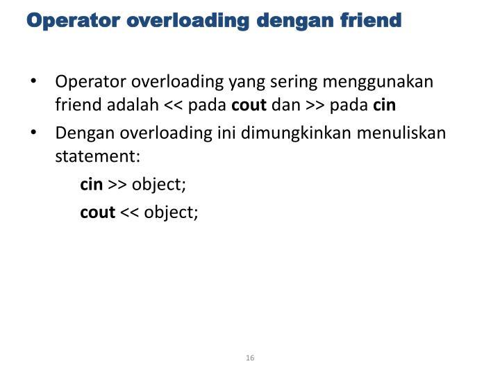Operator overloading yang