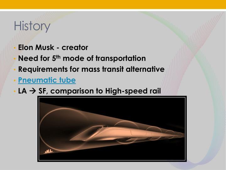 ppt - hyperloop  powerpoint presentation
