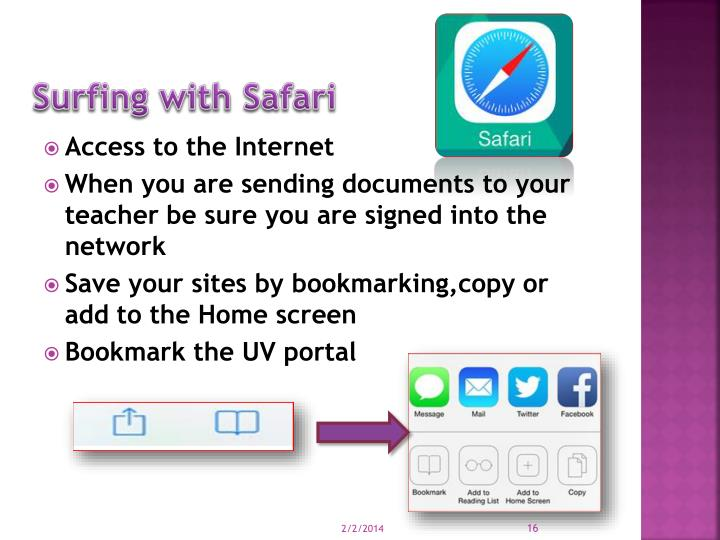 Surfing with Safari