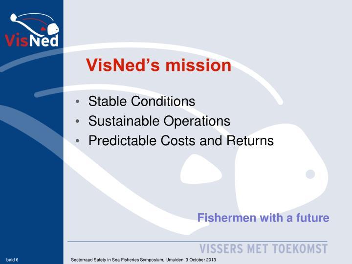 VisNed's mission