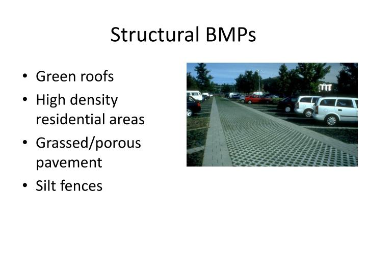Structural BMPs
