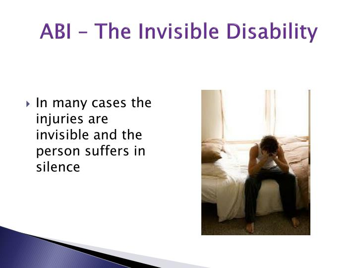 ABI – The Invisible Disability