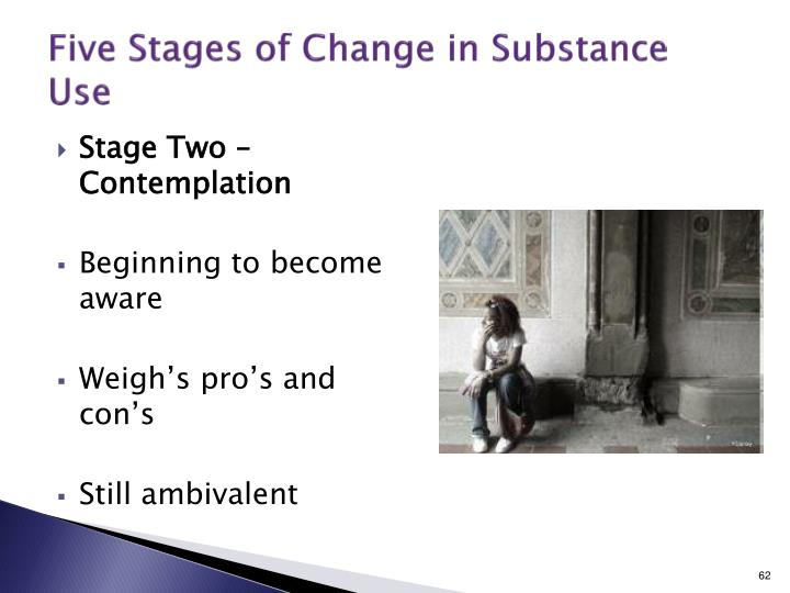 Five Stages of Change in Substance Use