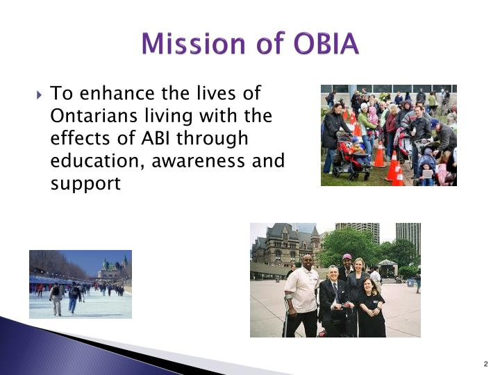 Mission of obia