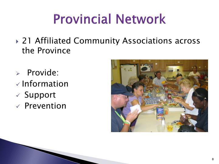 Provincial Network