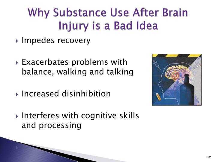Why Substance Use After Brain Injury is a Bad Idea