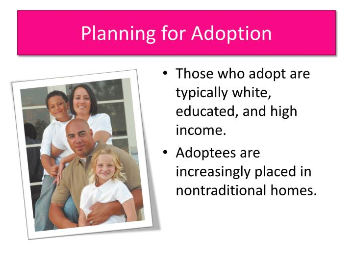 Planning for Adoption