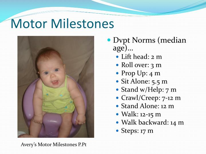Motor Milestones