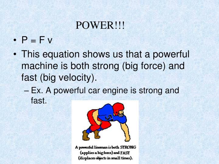 POWER!!!