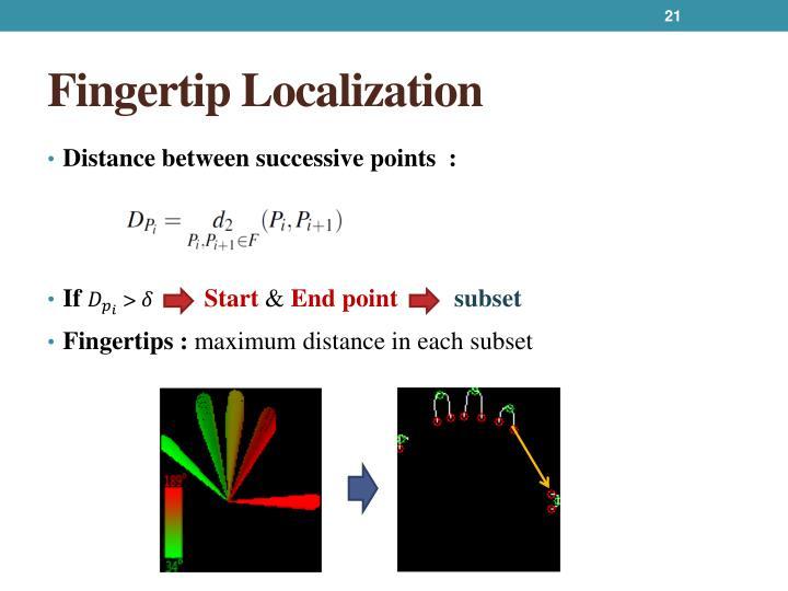 Fingertip Localization