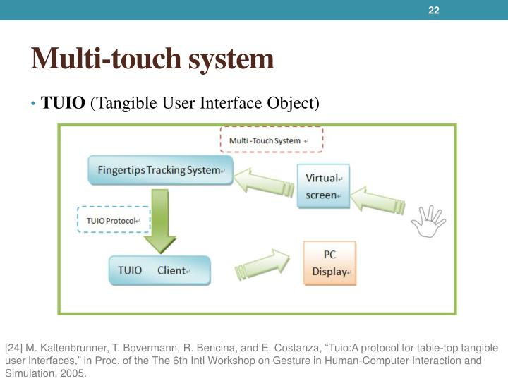 Multi-touch system