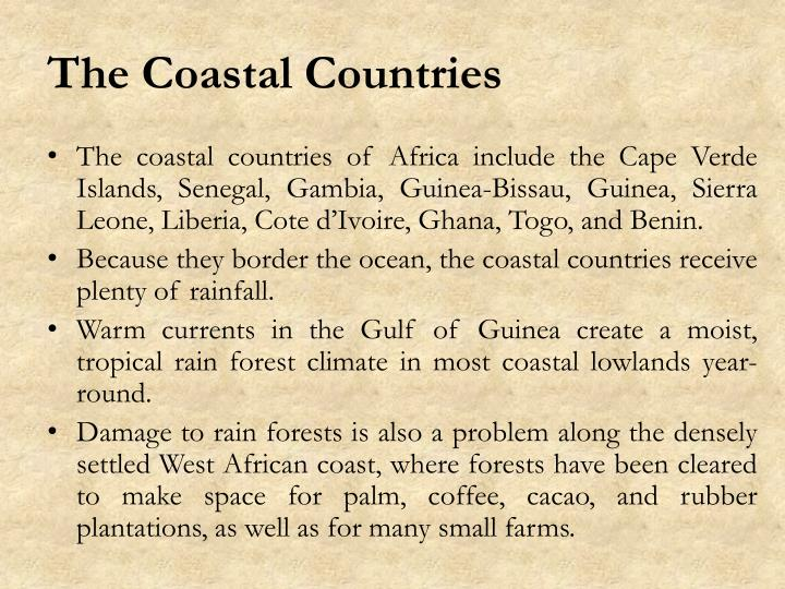 The Coastal Countries