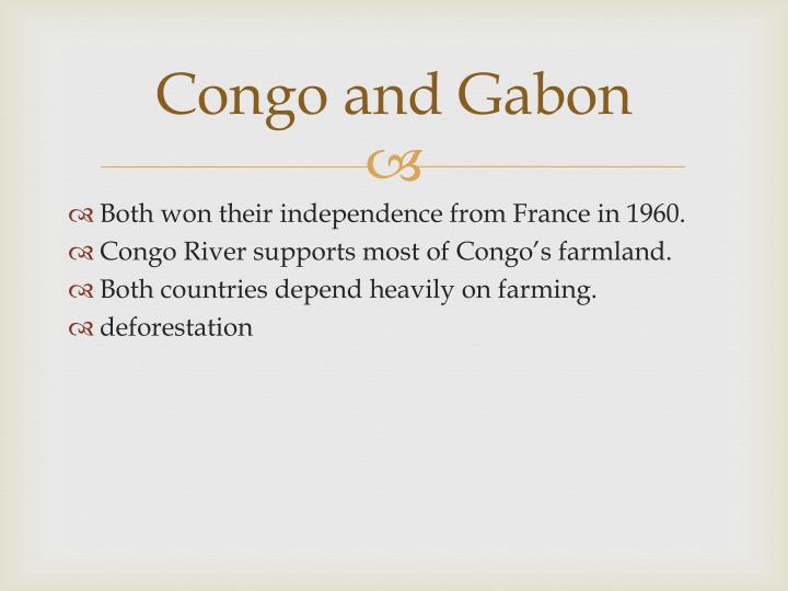 Congo and Gabon