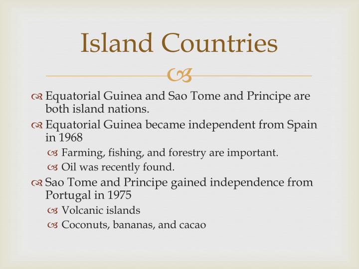 Island Countries