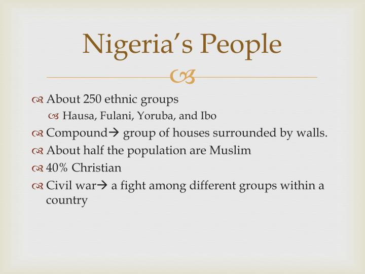 Nigeria's People