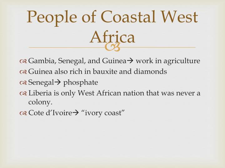 People of Coastal West Africa