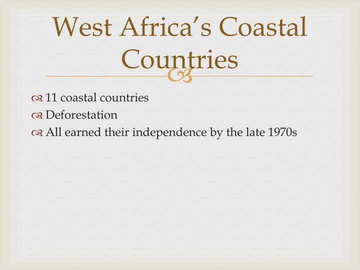 West Africa's Coastal Countries