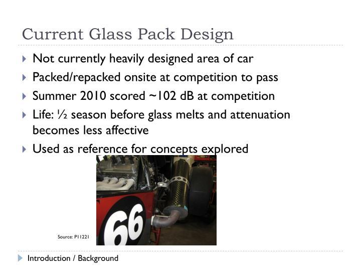 Current Glass Pack Design