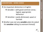 conventions word choice1