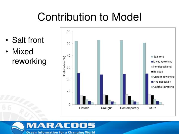 Contribution to Model