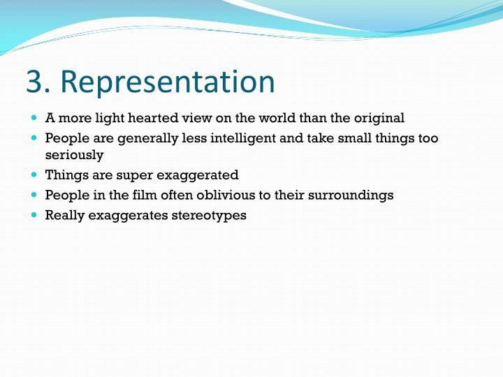 3. Representation