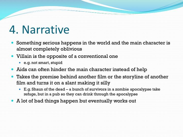 4. Narrative