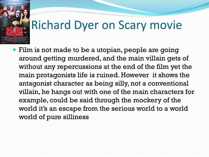 Richard Dyer on Scary movie
