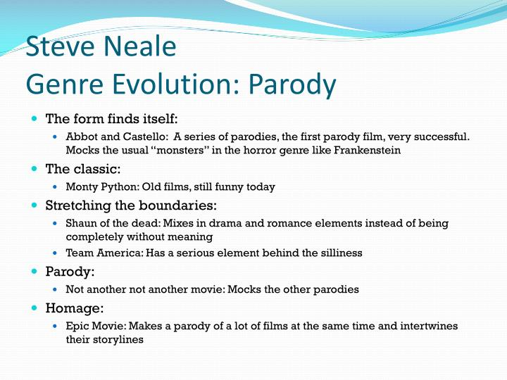 Steve Neale
