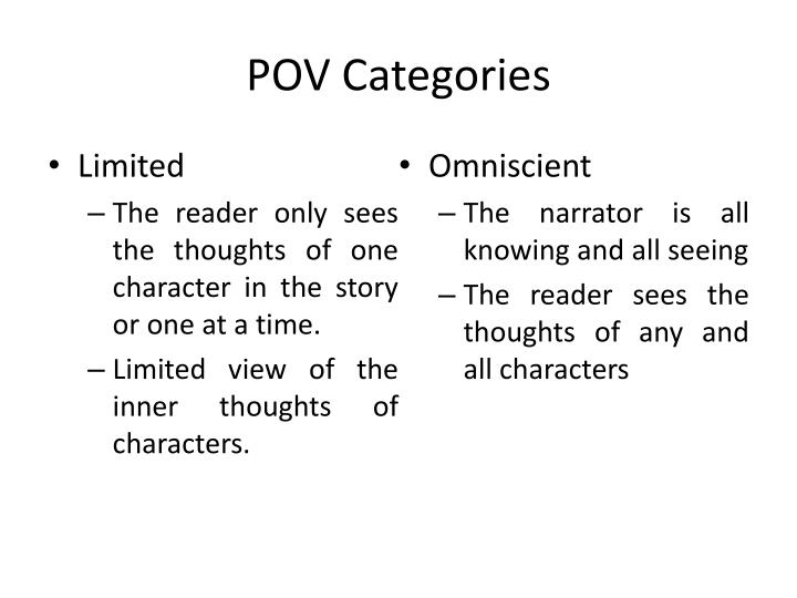 POV Categories