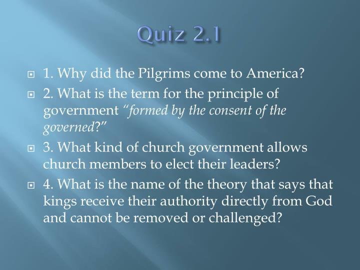 Quiz 2.1