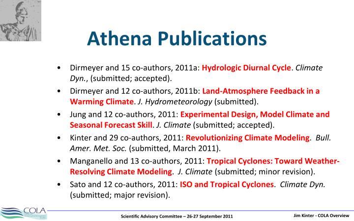 Athena Publications