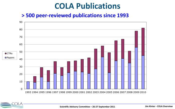 COLA Publications