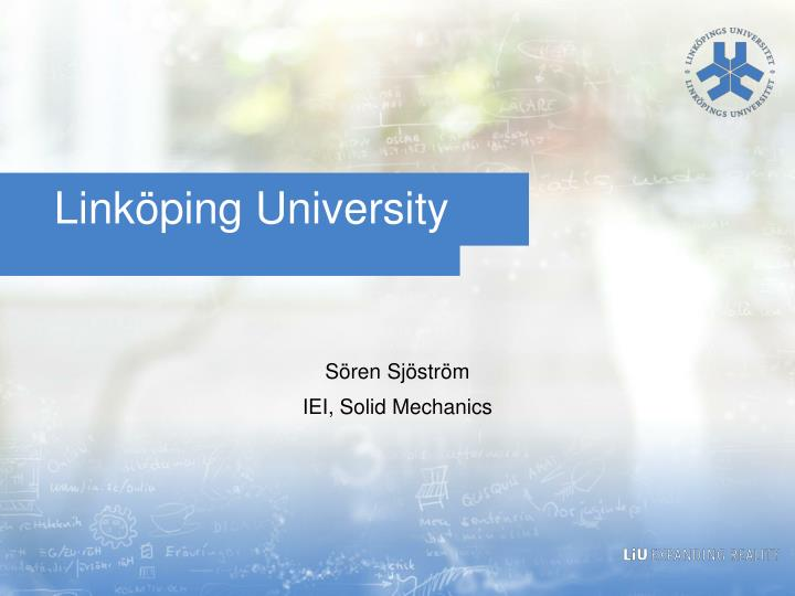Linköping University