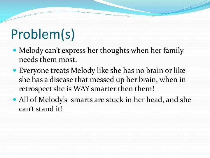 Problem(s)