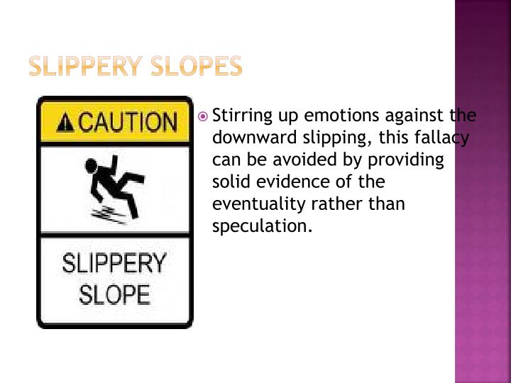 Slippery Slopes