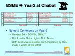 bsme year2 at chabot