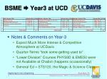 bsme year3 at ucd