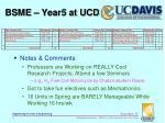 bsme year5 at ucd