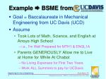 example bsme from