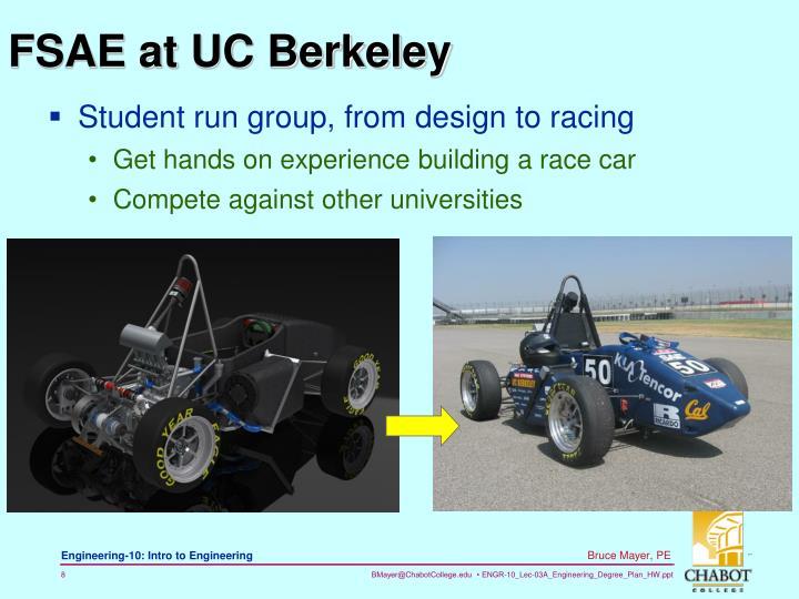 FSAE at UC Berkeley