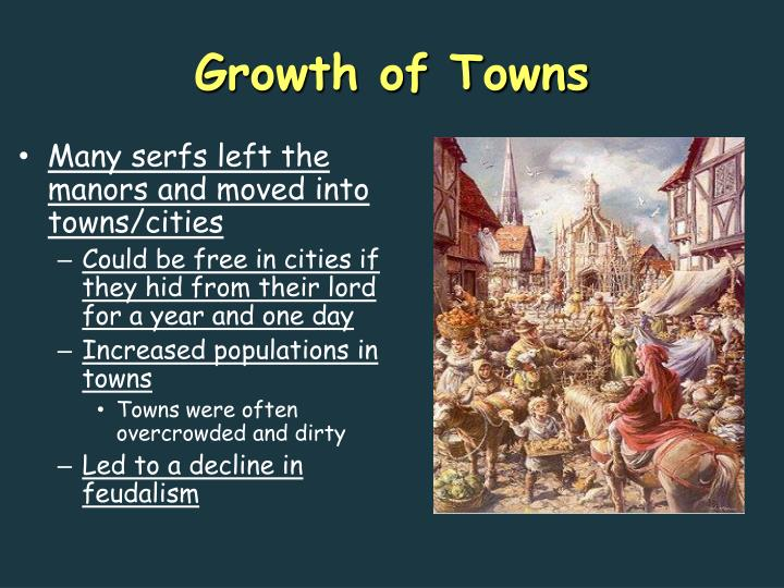 Growth of Towns