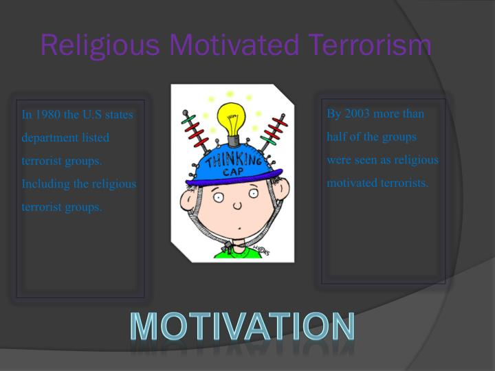 Religious Motivated Terrorism