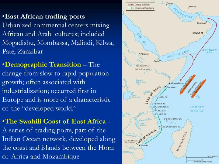 East African trading ports
