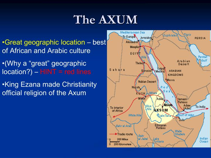 The AXUM