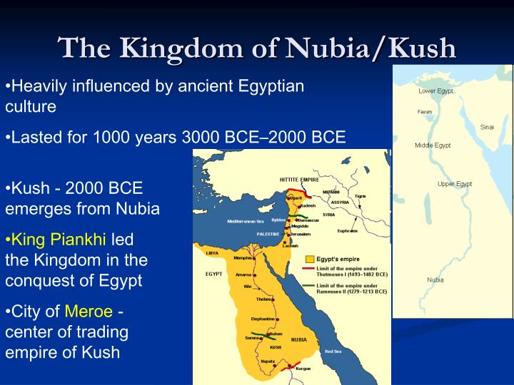 The Kingdom of Nubia/Kush